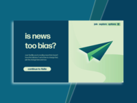 "is news too bias? - Landing Page for ""4site"""
