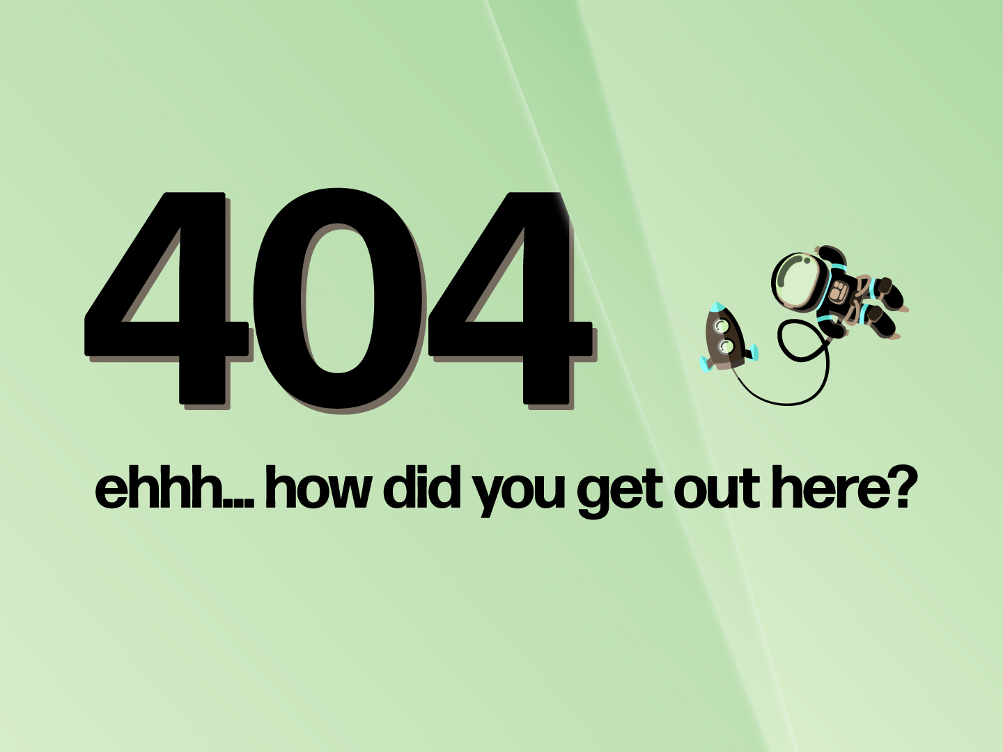 """404 Page for """"4Site"""""""