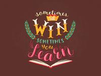 Lettering: Win & Learn