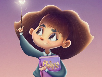 Hermione Granger potter harry granger hermione fanart girl art drawing illustration cartoon character