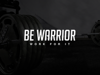 BE WARRIOR - Typeface