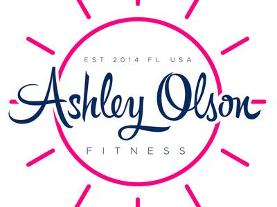 Ashley Olson Fitness Logo