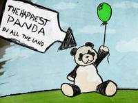 The Happiest Panda
