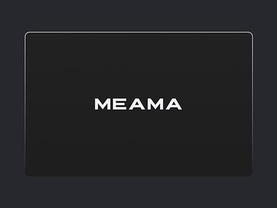Meama - Creative Coffee Company Website/UI interface animation landing page landing coffee coffee factory coffee capsule web animation web design ui animation user interface ui