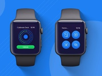 iWatch application shots