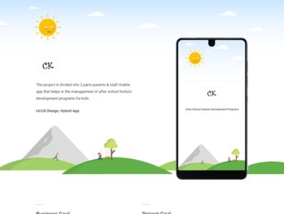 CK App | Case Study
