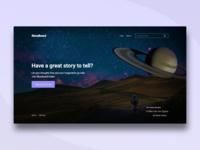 Landing Page Design in Adobe XD