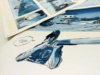 Strangers comic - Illustration 2017 sketching ink zoom P2