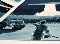 Strangers comic - Illustration 2017 sketching ink zoom P4