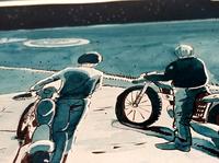 Strangers comic - Illustration 2017 sketching ink zoom P7