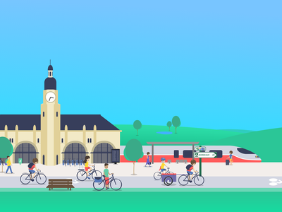 Loopi voyage illustration 2019