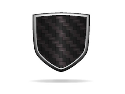 Carbon Fibre logo vector illustrator shield graphic logo carbon carbon fibre