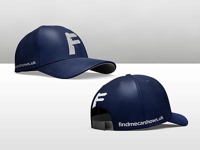 Find Me Car Shows Cap Mock-up 3d photoshop mock-up cap
