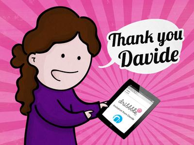 Thank you Davide!