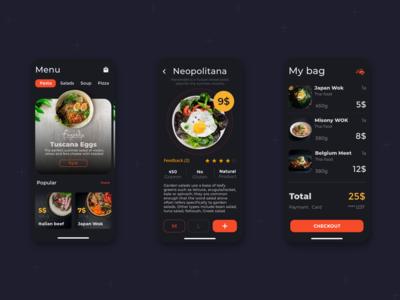 Food Delivery App food delivery mobile design mobile mobile app design