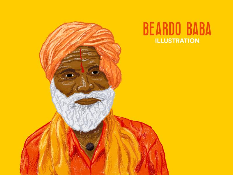 BEARDO BABA ILLUSTRATION