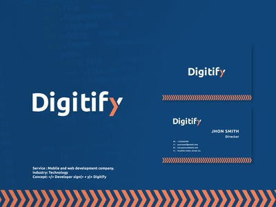Digitify custom logo
