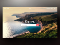 Airbnb Homepage Concept