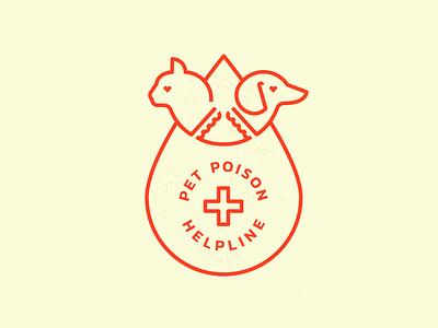 Logo For a Pet Helpline design branding vector logo