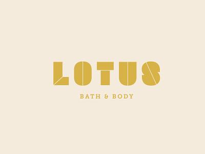 Lotus minimal vector flat logo branding design