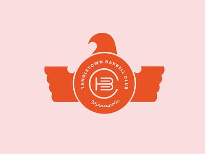Logo For A Gym minimal flat vector branding logo design
