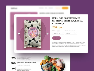 Wellfood — Product card website photoshop typography animation illustration ux web clean ui design