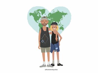 Travel world together