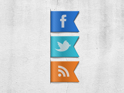 Social Serveces facebook twitter rss icon