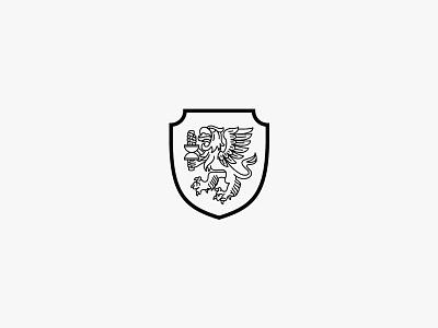 Griffin Badge griffin badge emblem logo crest