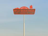 Wild Basin Signage rough