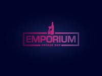 Emporium Arcade Bar Logo