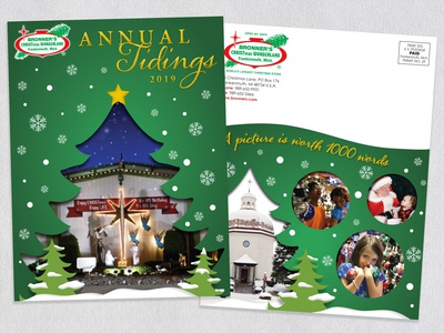 Bronner's Christmas Wonderland Annual Tidings Newsletter