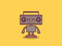 Robo Boombox