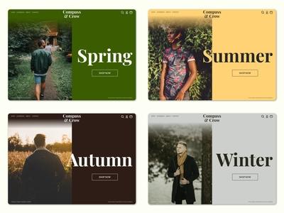 Four Seasons - E-Commerce Concept
