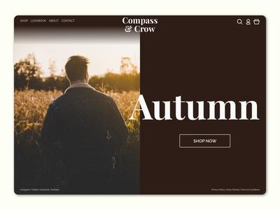 Autumn - Website Concept