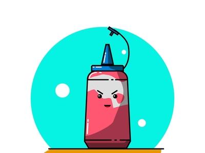 Bottle Sauce Ketchup