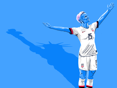 Megan Rapinoe Illustration