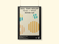 Abstract Vector Art Gig Poster