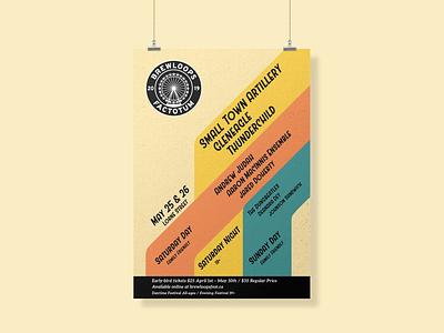Brewloops Spring 2019 abstract design british columbia print design print vector vector design designer illustrator gig poster poster design