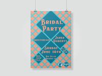Bridal Party at Red Collar Brewing