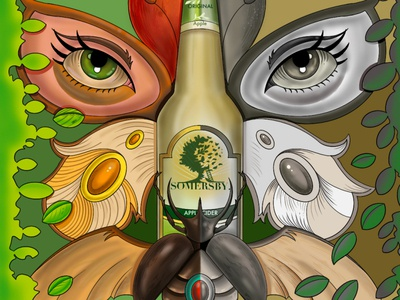 somersby Illustration project ipadpro procreate digitalillustration digitalart color commercial art art design illustration artwork illustrator