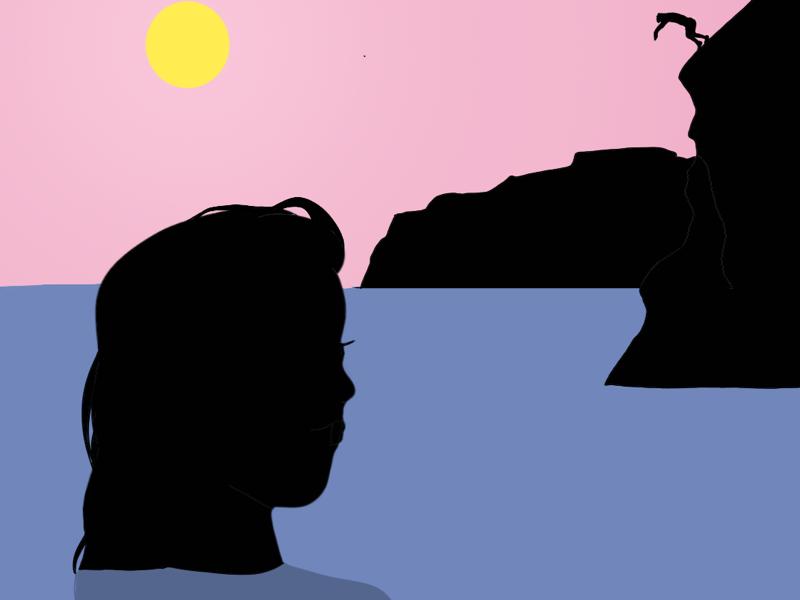 Malibu//Illustration design comics book editorial illustration illustration summer beach