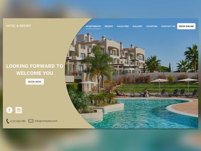 Hotel & Resort Mock-Up