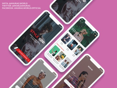 Style App Fashion E-Commerce Concept