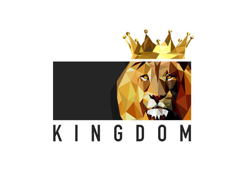 Kingdom Logo logo flat design photoshop low poly illustrator