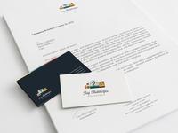 Branding branding business card flat photography camera
