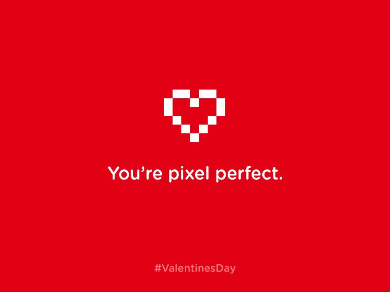 Valentines Day valentine valetinesday pixel love heart red