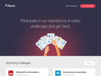 Hatch Landing Page