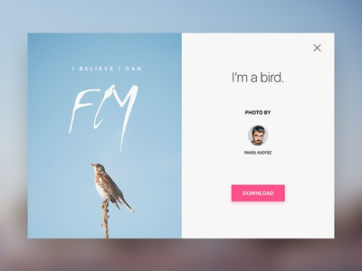 Day 001 - Modal - Daily UI
