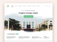 IIIT-Bh College website redesign